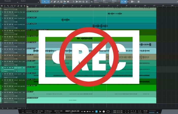 Why Is Studio One Not Recording? (Step-By-Step Fix)