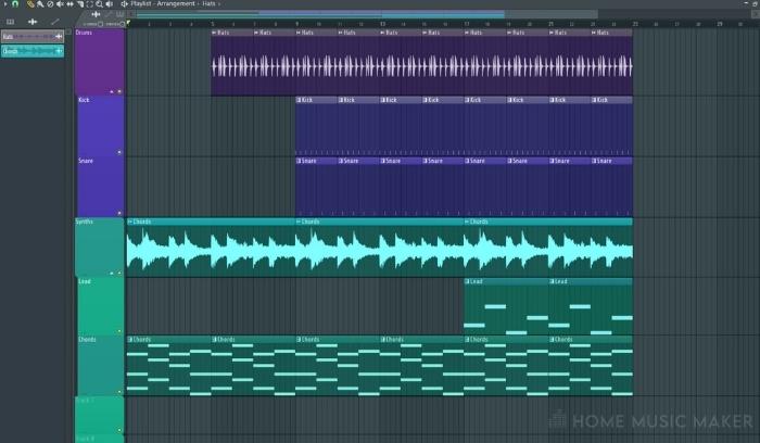 FL Studio Good Usability