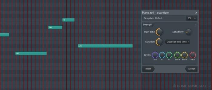 FL Studio Quantizer Tool 1