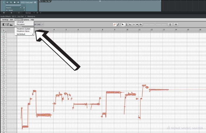 Suppose you want to edit polyphonic material but not get into every single note